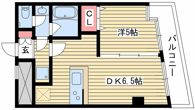 神戸市中央区元町通(神戸市営地下鉄海岸線みなと元町)のマンション間取画像