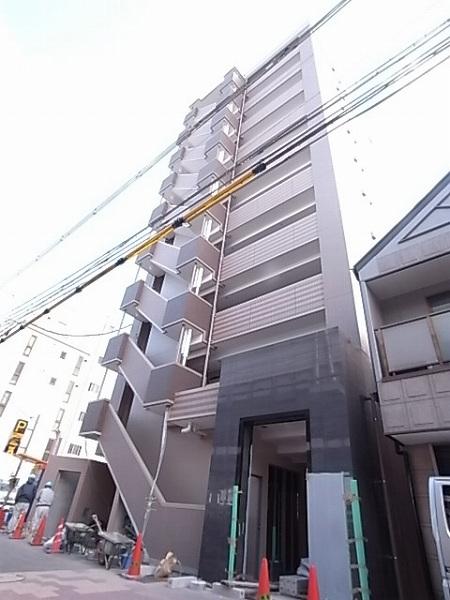 神戸市兵庫区小河通(JR山陽本線兵庫)のマンション外観写真