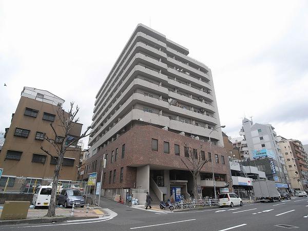 神戸市中央区北長狭通(神戸高速線花隈)のマンション外観写真