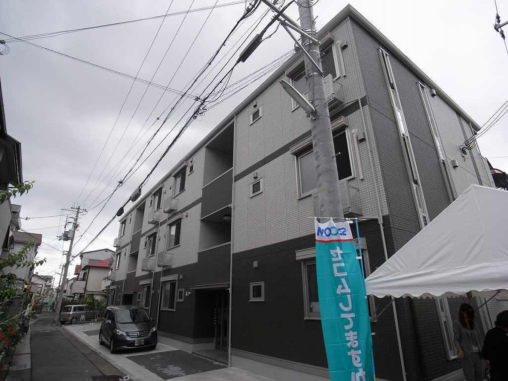神戸市灘区岩屋中町(阪神本線岩屋)のマンション外観写真