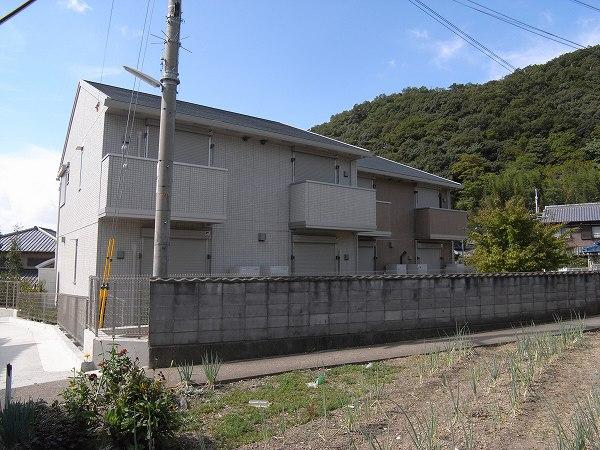 神戸市北区山田町下谷上(北神急行線谷上)のハイツ外観写真