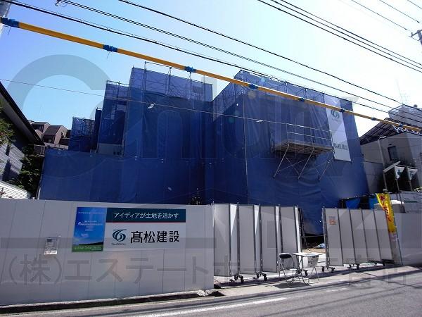 神戸市東灘区御影郡家(阪急神戸線御影)のマンション外観写真