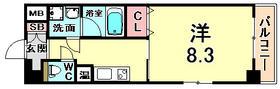 神戸市東灘区住吉宮町(JR東海道本線(近畿)住吉)のマンション間取画像