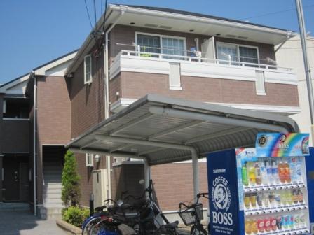 神戸市須磨区神撫町(神戸市営地下鉄線板宿)のハイツ外観写真