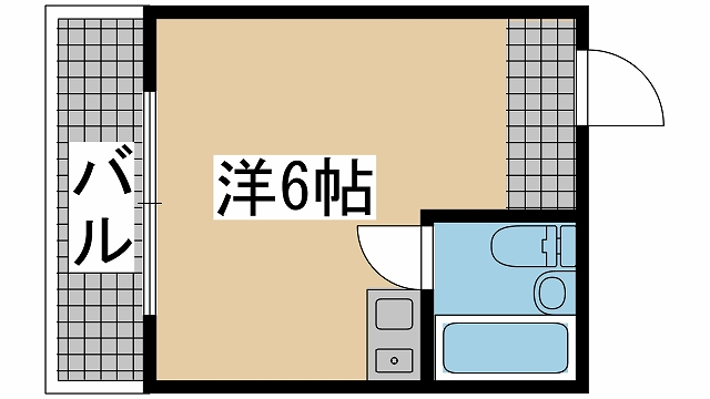 神戸市灘区篠原中町(阪急神戸線六甲)のマンション間取画像