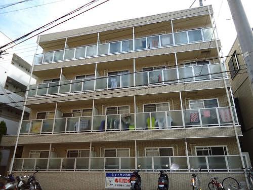 神戸市灘区弓木町(JR東海道本線(近畿)六甲道)のマンション外観写真