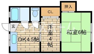 神戸市須磨区須磨浦通(JR山陽本線須磨)のマンション間取画像