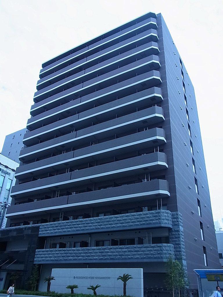神戸市中央区磯上通(JR東海道本線(近畿)三ノ宮)のマンション外観写真
