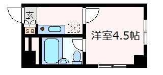 神戸市中央区加納町(JR東海道本線(近畿)三ノ宮)のマンション間取画像