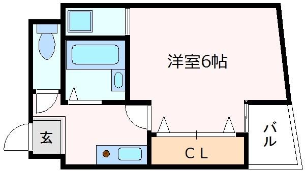 神戸市中央区相生町(JR東海道本線(近畿)神戸)のマンション間取画像