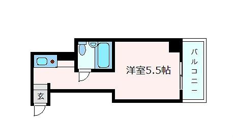 神戸市中央区元町通(JR東海道本線(近畿)神戸)のマンション間取画像
